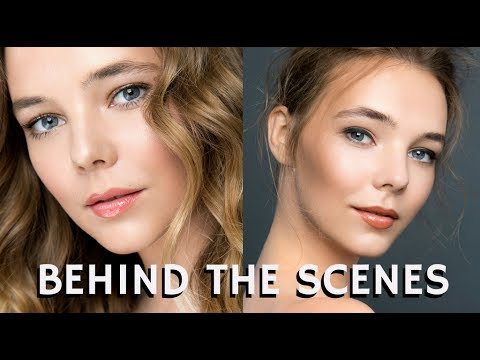 Working as a Pro Makeup Artist on a Photoshoot Behind the Scenes | mathias4makeup