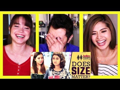 GIRLIYAPA'S LADIES ROOM: DOES SIZE MATTER? | Reaction!
