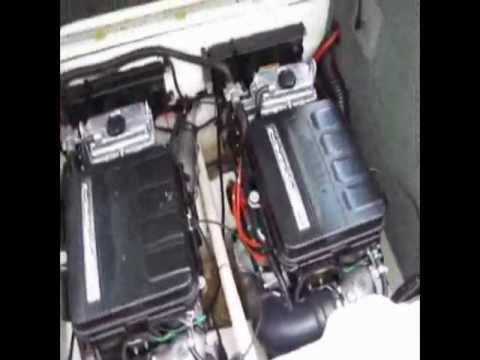 2004 Yamaha MR-1 Engine Test - Suenos Azules Marine Surveying and Consulting