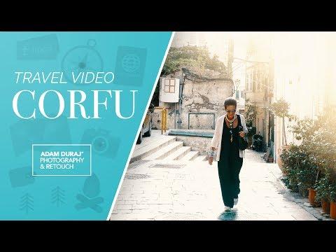Corfu Travel Video 4K - Panasonic LX100 | IPhone SE
