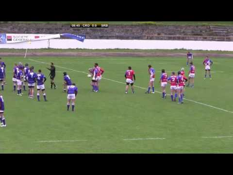 2017  CROATIA  SERBIA   RUGBY EUROPE U18 CONFERENCE 2   2017
