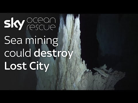 Sea Mining Could Destroy Underwater Lost City