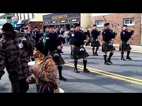 Rockaway Beach NY Irish Day Parade 3/3/2012