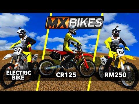 CR125 | RM250 | ALTA REDSHIFT E-BIKE - Doing Some Bike Testing! - MX Bikes