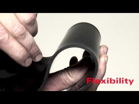 Neoprene Rubber Sheet - Black