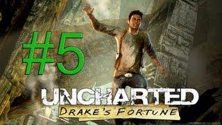 Let´s Play Uncharted Drakes Schicksal Part 5 [DE/HD]  - Flugzeugabsturz
