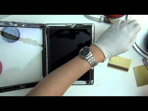 ipad 4 screen repair replacement teardown video