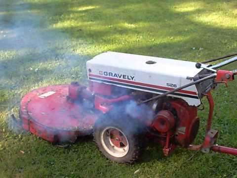 Gravely K181 Engine smoking
