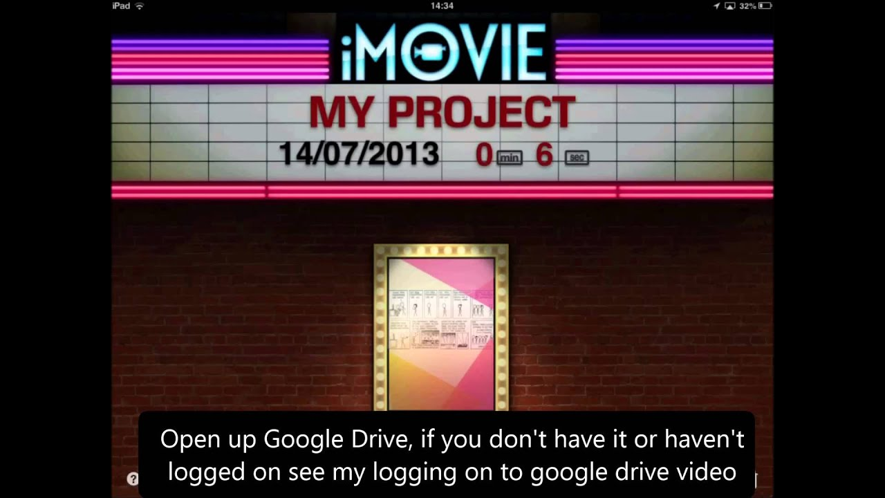 How to export imovie video to Google Drive - YouTube