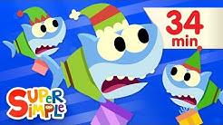 Santa Shark - Featuring Finny The Shark   Baby Shark Christmas