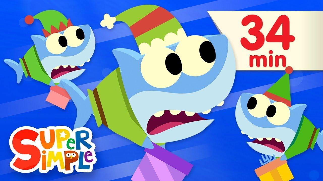 Santa Shark Featuring Baby Shark More Kids Songs