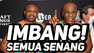 Mike Tyson Imbang Lawan Roy Jones Jr, Yang Penting Sedekah!