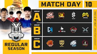 Free Fire Pro League Season 4 : Regular Season Day 10