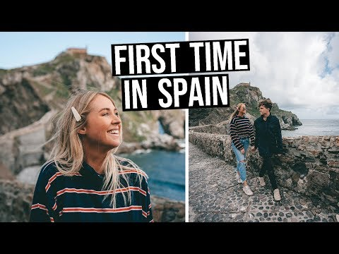 First Time in SPAIN (Bilbao & La Coruña on a Cruise)