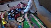 Imaginarium Mountain Rock Train Table Review - YouTube