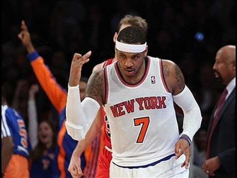 Carmelo Anthony Lights Up the Bulls