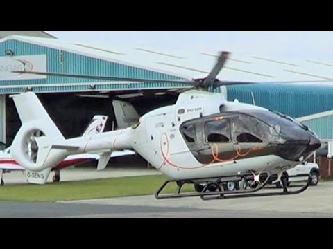 More final day of Blackpool Airport G-SENS Eurocopter EC-135-2+