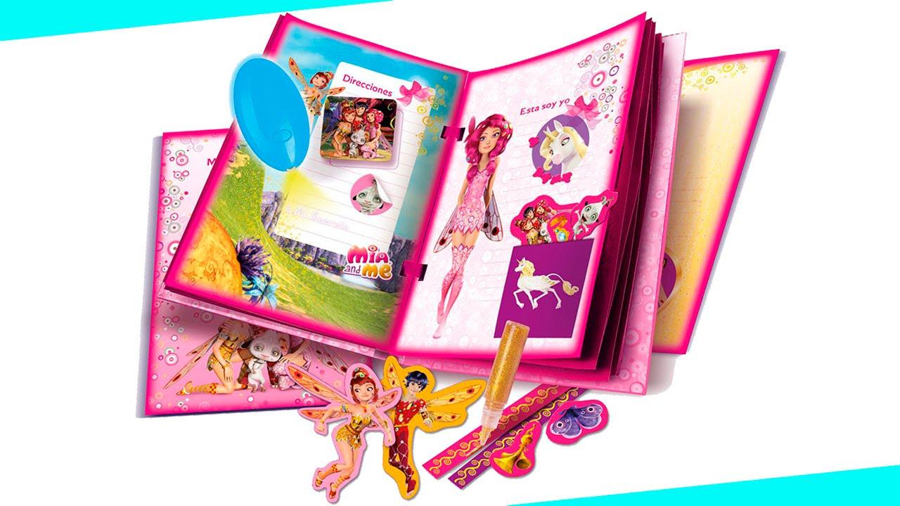 MIA AND ME diario magico de MIA Y YO juguetes creativos y ...