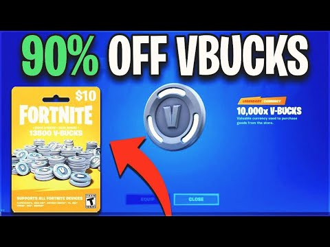 Buying A 13,500 V-Bucks For $10... (90% OFF)