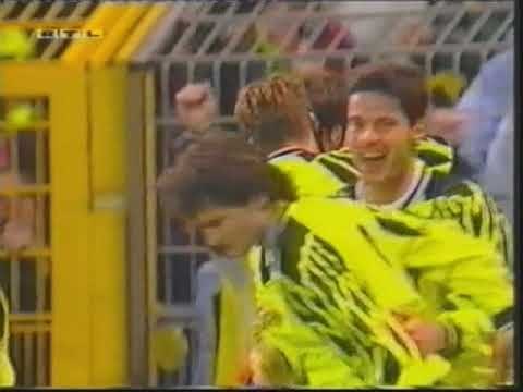 1994/1995 UEFA Cup, 04. Round Second leg Bor. Dortmund - Lazio Rom