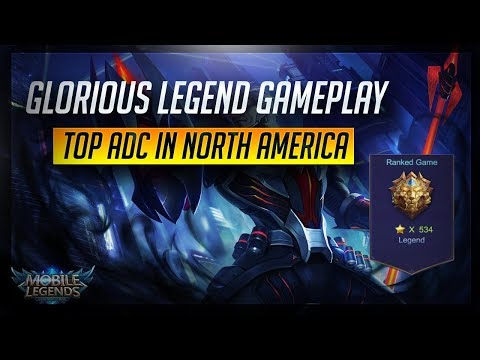 Glorious Legend Gameplay  x534 - Road to Top 1 [Filipino] NA Server