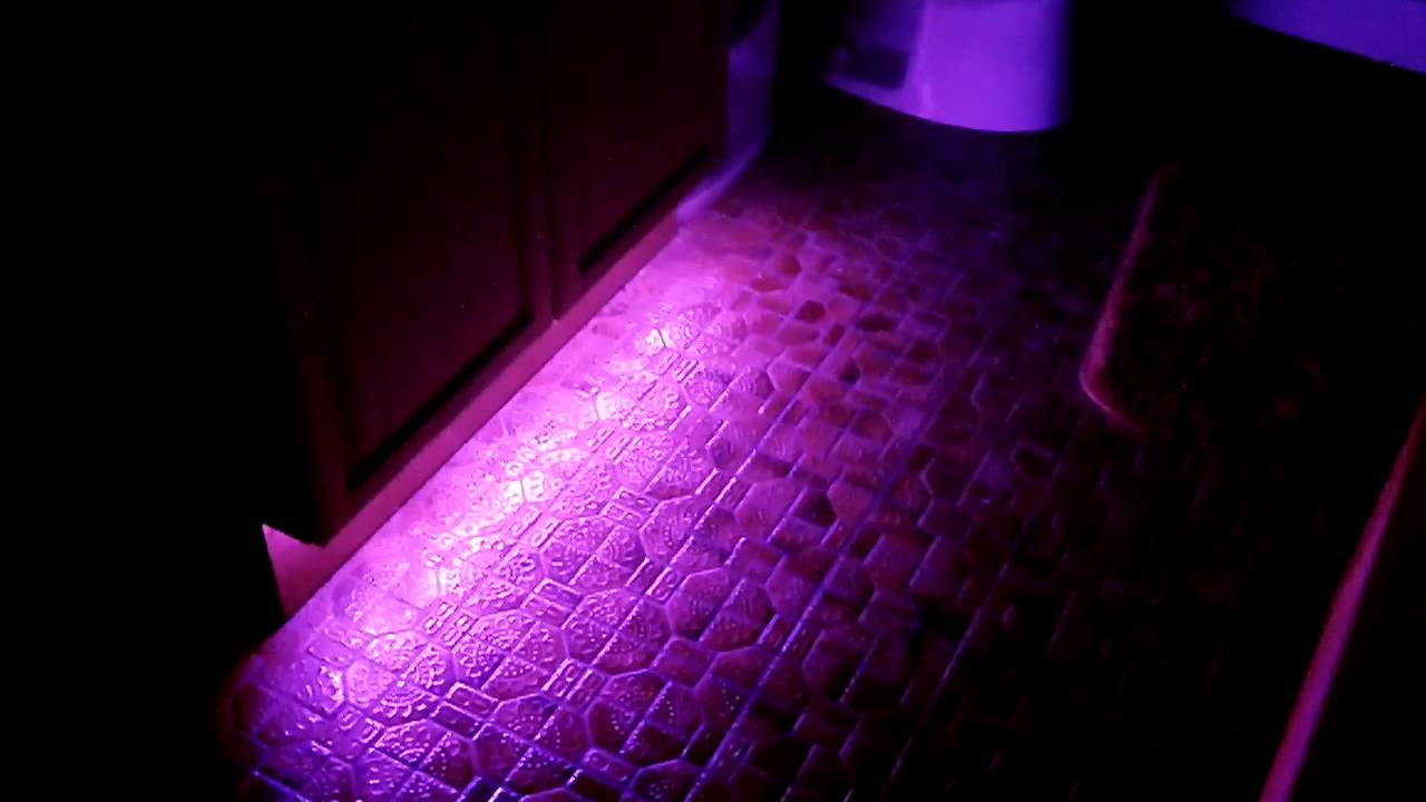 bathroom floor led lighting  YouTube