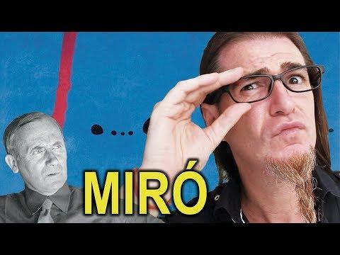 MIRÓ, EL PEOR PINTOR DE LA HISTORIA DEL ARTE