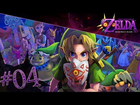 [Let's Play] The Legend Of Zelda : Majora's Mask 3D #4 - Odolwa, le dément