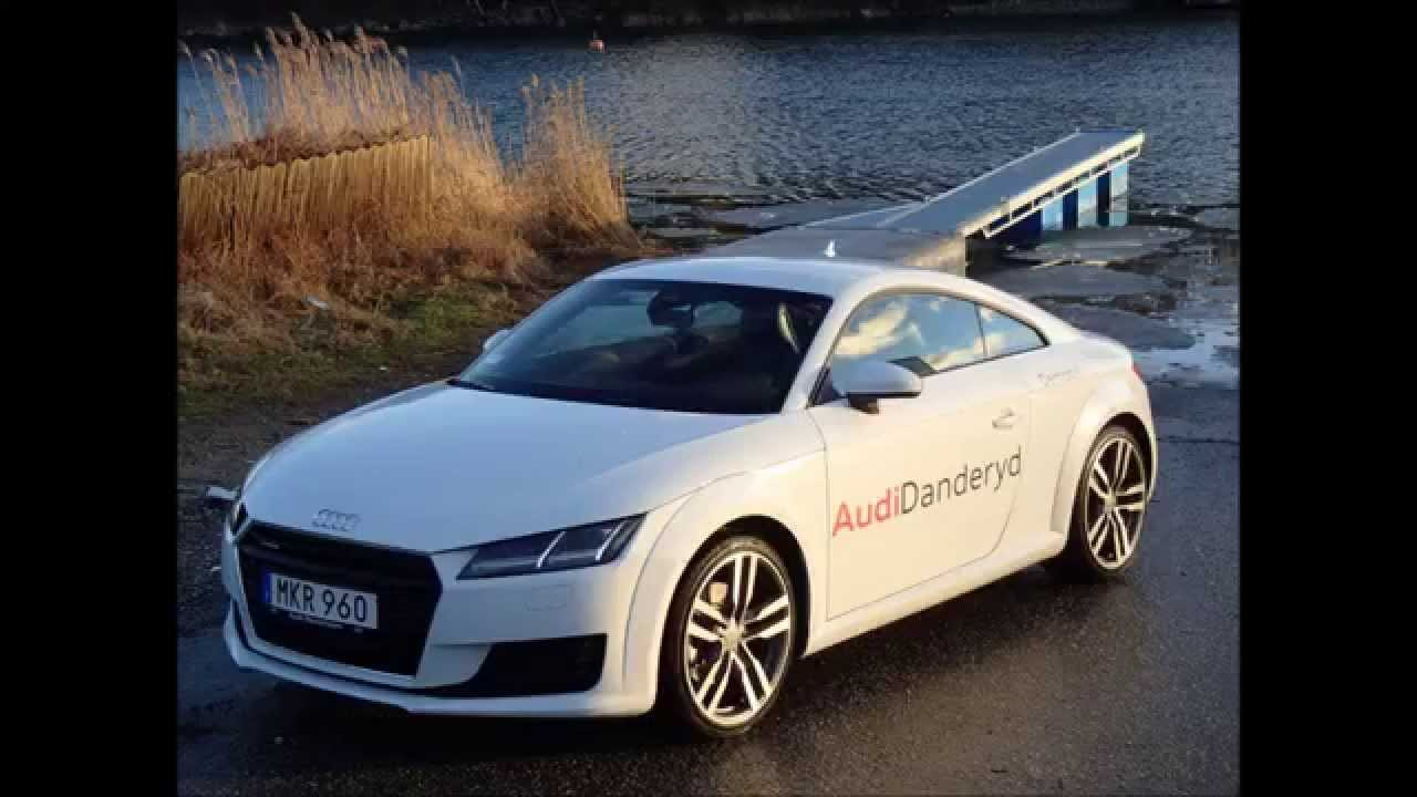 Glacier White 2015 Audi Tt Mk3 Launch Acceleration