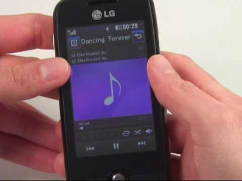 LG GS290 Cookie Fresh Test Musikplayer