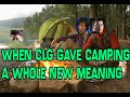 Frame from When CLG Gave Camping A Whole New Meaning