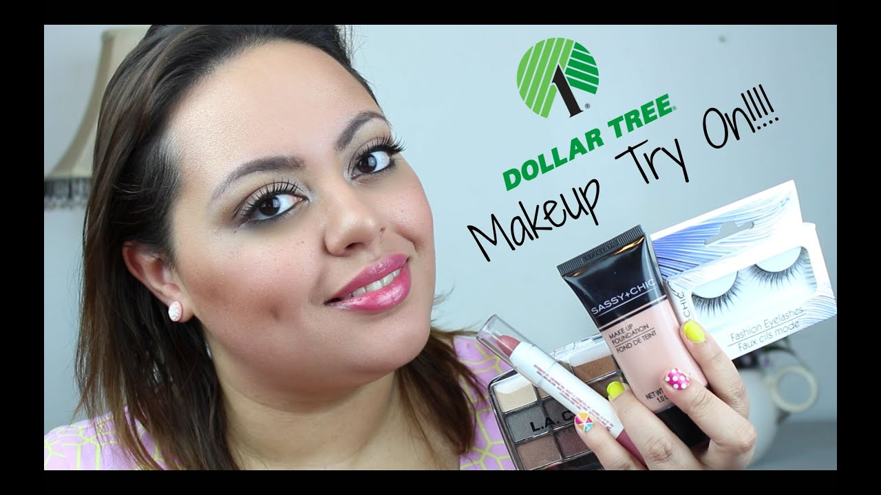 Dollar Tree Makeup Try On The Good The Bad And The