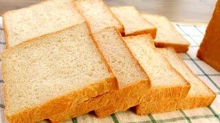 How To Make Super Soft and Fluffy Chinese Bakery Milk Bread   Hokkaido Milk Loaf   Shoku Pan Recipe