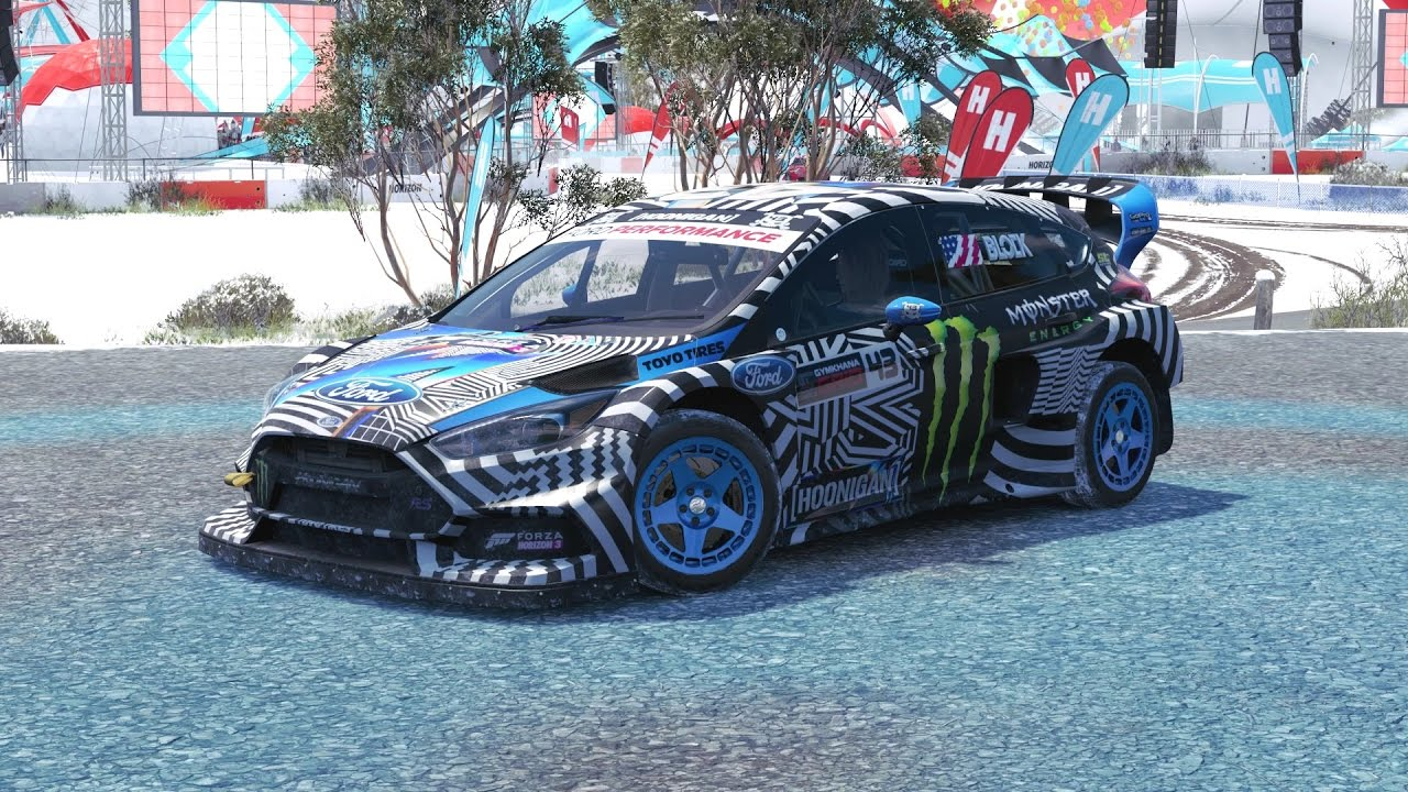 2016 Ford Focus Rs 0 60 >> Forza Horizon 3 - 2016 Ford Gymkhana 9 Focus RS RX - YouTube
