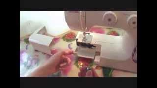 Как заправить шпульку в швейную машинку. Натяжение нити. Урок 3