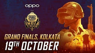 [HINDI] Grand Finals - OPPO X PUBG MOBILE India Tour | Day 1