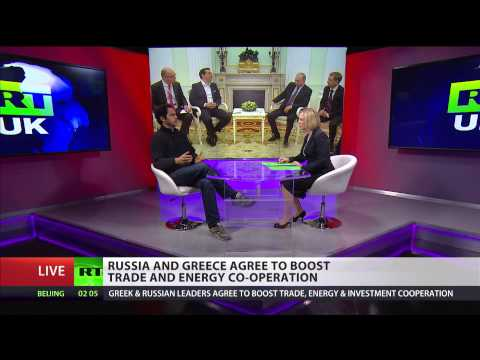 Russia & Greece agree to boost trade and energy co-operation