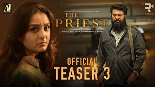 The Priest Official Teaser 3 | Mammootty | Manju Warrier | Jofin T Chacko | Nikhila Vimal