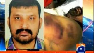 geo capital talk hamid mir discuss killing of mqm worker aftab in rangers custody due to torture