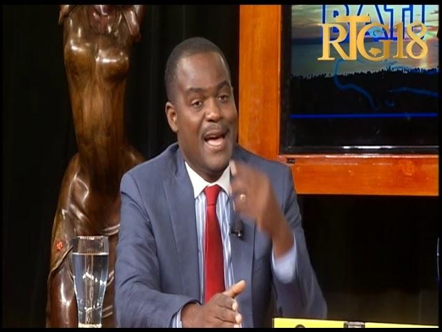Sénateur Kedlaire Augustin à l'émission Bati Ayiti