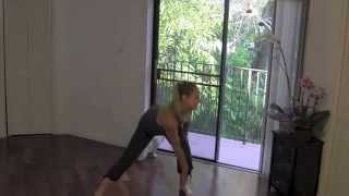 Cardio Core Flow - Full 25 Minute Cardio, Core and Standing Abs Home Workout