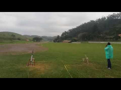 LANÇAMENTO DE FOGUETE DA EQUIPE MARAJÓ HLI 16 EM BARRA DO PIRAÍ RJ