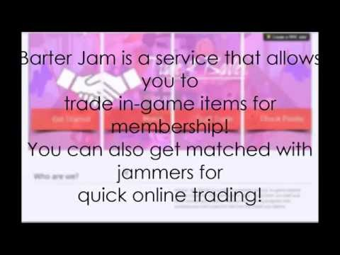 Barter Jam! A free online trading service for Animal Jam! (NEW TRAILER)
