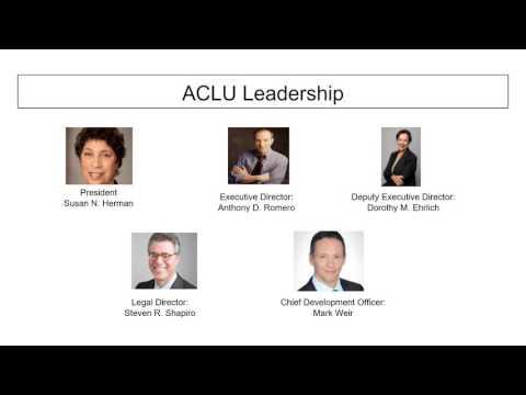 American Civil Liberties Union adg