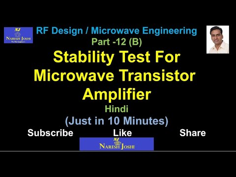 Ility Test For Microwave Transistor