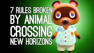 Animal Crossing New Horizons: 7 Ways Animal Crossing New Horizons Breaks the Rules