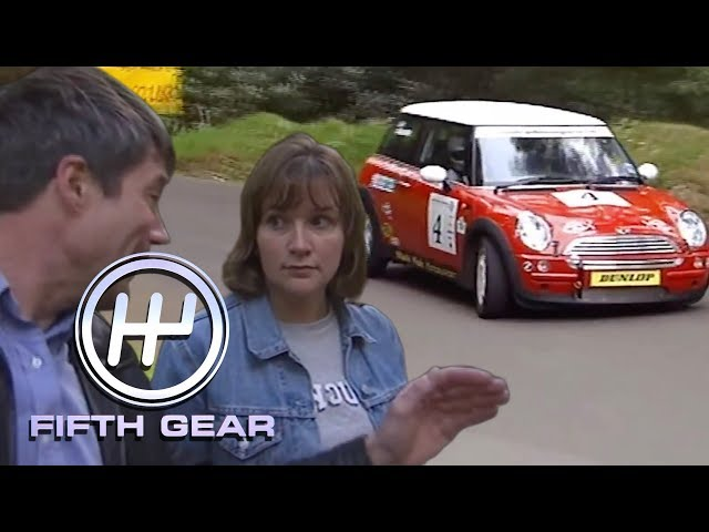 Tiff schools a novice how to be a motorsport pro   Fifth Gear Classic