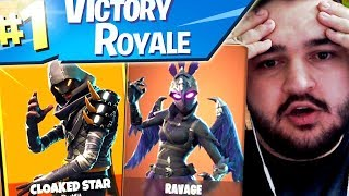 IRAPHAHELL MAKES THE FIRST WIN WITH THE NEW SKINURI OF FORTNITE!