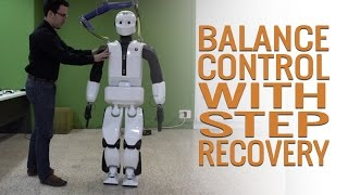 REEM-C - Balance control with step recovery