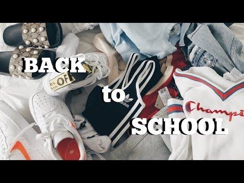 back to school clothing haul!